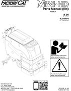 MINI-HD - Parts Manual
