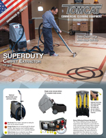 SuperDuty Carpet Extractor TechSpecs
