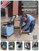 SuperDuty Carpet Spotter Brochure