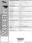 RECON - Sales Sheet<br>(339 KB)