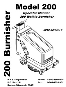 200 - Operators Manual <br>(2.85 MB)