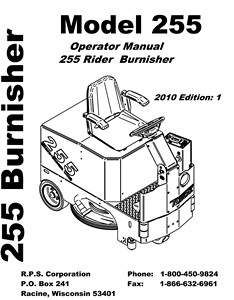255 - Operators Manual <br>(3.15 MB)