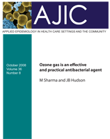Ozone gas is an effective and practical antibacterial agent<br>(2.34MB)
