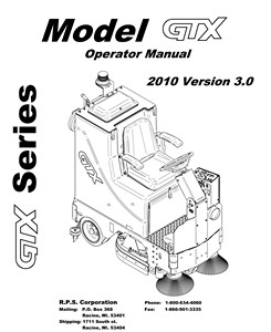 GTX - Operators Manual <br>(4.03 MB)